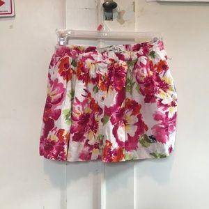 Abercrombie Kids Floral Skirt